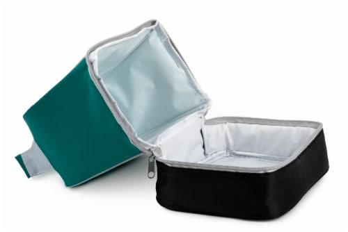 Everyday Living Colorblock Lunch Box - Green Perspective: left