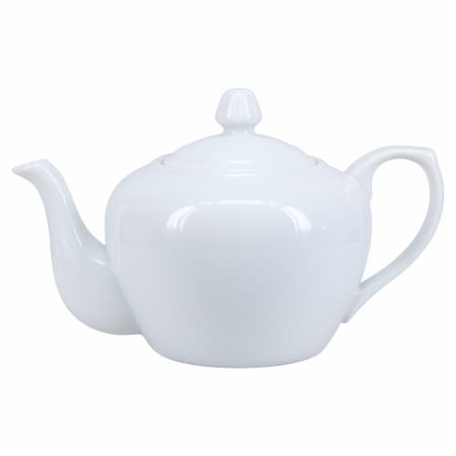 Dash of That Broadway Teapot - White Perspective: left