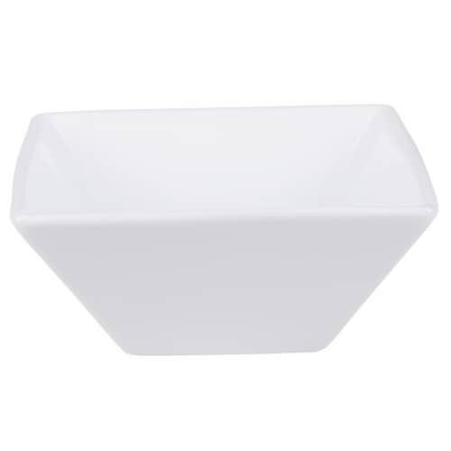 Dash of That™ Broadway Square Flare Bowl - White Perspective: left