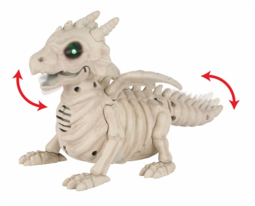 Holiday Home Mini Dragon Skeleton Perspective: left