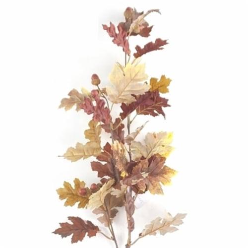HD Designs Oak Leaves and Acorn Decorative Stem Perspective: left