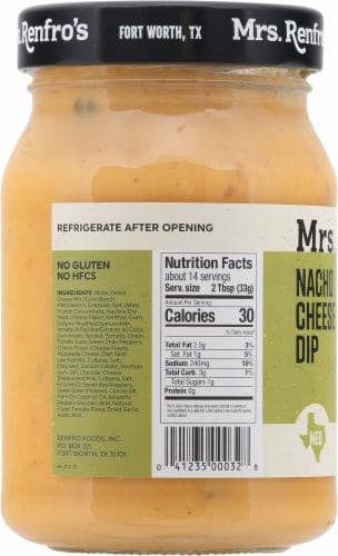 Mrs. Renfro's Nacho Cheese Sauce Dip Perspective: left