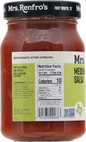 Mrs. Renfro's Medium Salsa Perspective: left