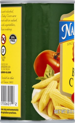 Napolean Whole Baby Corn Perspective: left