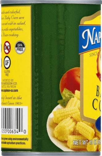 Napolean Cut Baby Corn Perspective: left