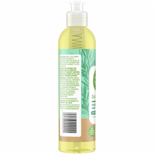 Simple Truth™ Rosemary Mint Body Oil Perspective: left