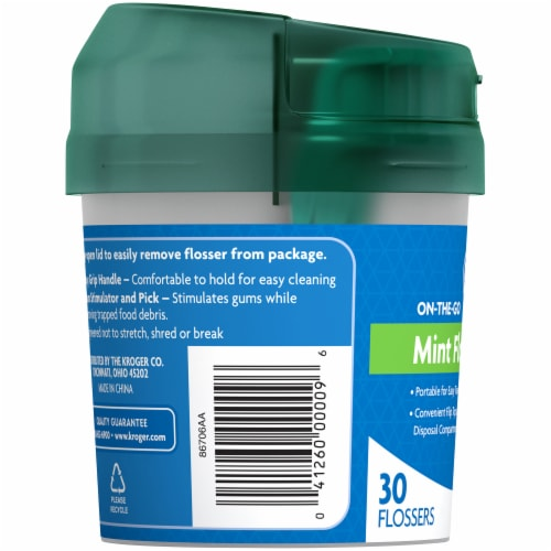 Kroger® Mint Flossers On-The-Go Cup Perspective: left