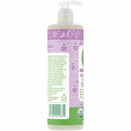 Simple Truth Organic™ Lavender Vanilla Baby Wash Perspective: left