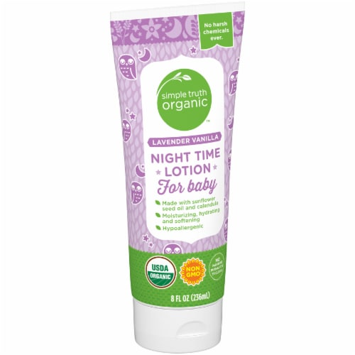 Simple Truth Organic™ Lavender Vanilla Night Time Lotion for Baby Perspective: left