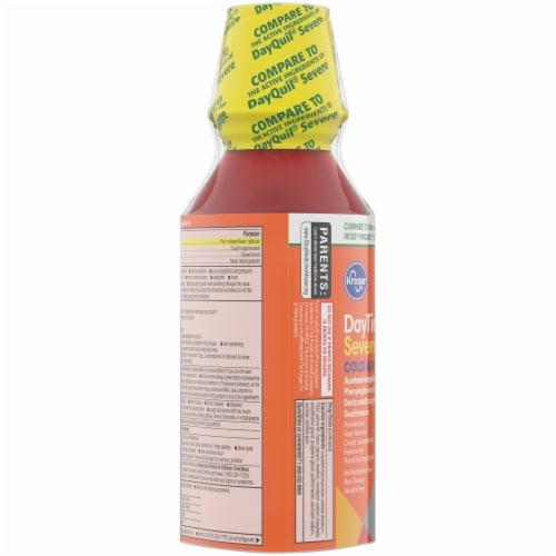 Kroger® Berry Flavored Severe Cold & Flu DayTime & NightTime Liquid Perspective: left