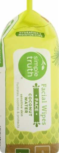 Simple Truth™ Coconut Water Sensitive Skin Facial Wipes Perspective: left