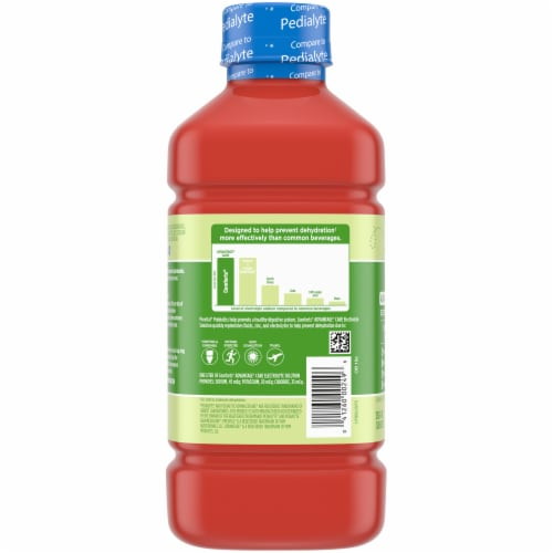 Comforts™ Cherry Punch Flavored Advantage Care Electrolyte Solution Perspective: left