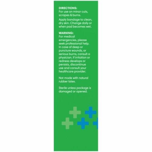 Kroger® Flexible Fabric Sensitive Skin Bandages Perspective: left