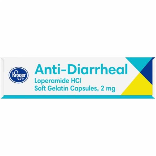 Kroger® Anti-Diarrheal Loperamide Softgels 2mg Perspective: left