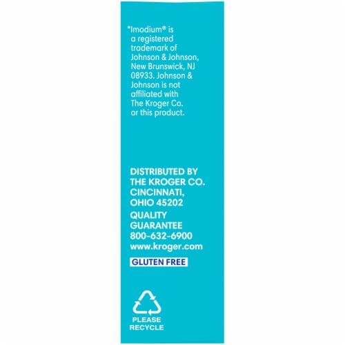 Kroger® Anti-Diarrheal + Anti-Gas Multi-Symptom Relief Caplets Box Perspective: left