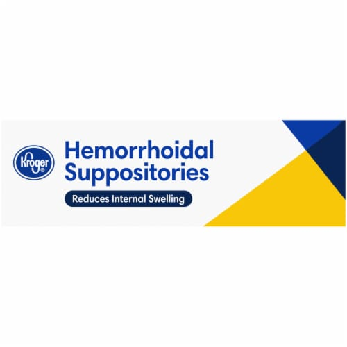 Kroger® Hemorrhoidal Suppositories Perspective: left