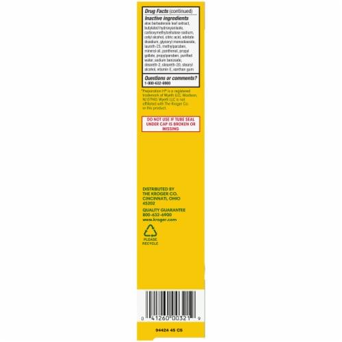 Kroger® Hemorrhoidal Cream Perspective: left