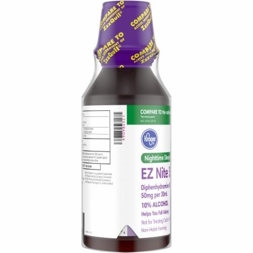 Kroger® EZ Nite Sleep Berry Flavor Nighttime Sleep Aid Liquid - 2 Count Perspective: left