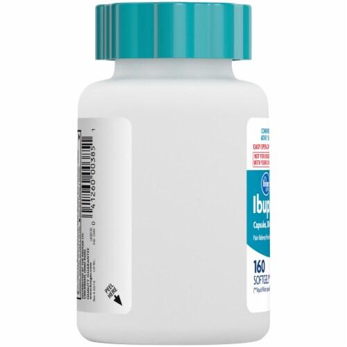 Kroger® Ibuprofen Softgel Capsules 200mg Perspective: left