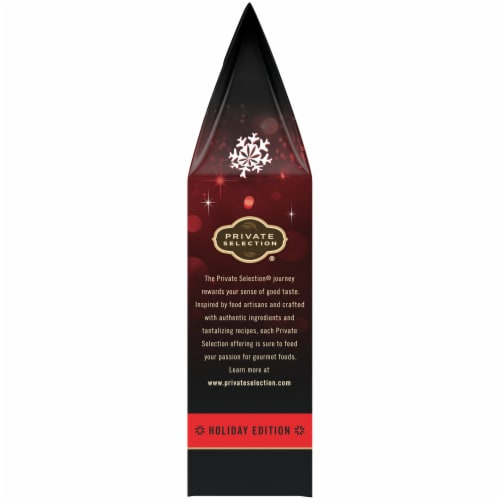 Private Selection® Dark Chocolate Sea Salt Soft Caramels Perspective: left
