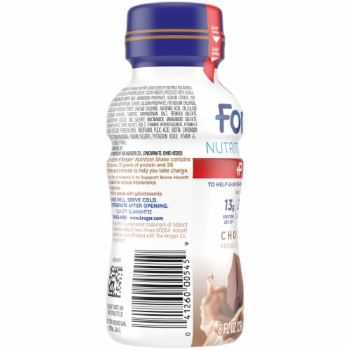 Kroger® Fortify Chocolate Plus Nutrition Shake Perspective: left