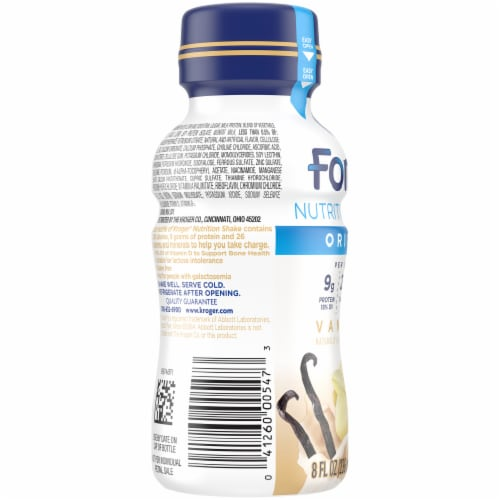 Kroger® Fortify Original Vanilla Nutrition Shake Perspective: left