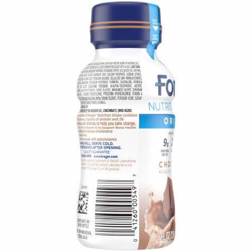 Kroger® Fortify Chocolate Nutrition Shake Perspective: left