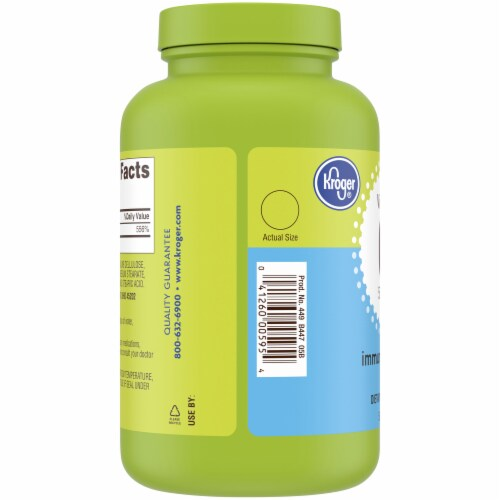 Kroger® Vitamin C Dietary Supplement Tablets 500mg Perspective: left