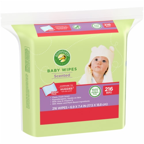 Comforts™ Scented Baby Wipes Perspective: left