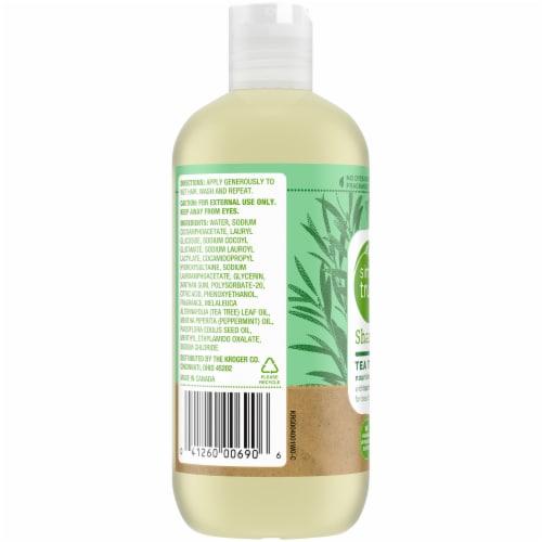 Simple Truth™ Tea Tree Mint Shampoo Perspective: left