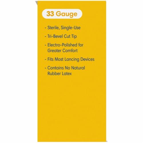 Kroger® HealthPro™ 33 Gauge Twist Lancets Perspective: left