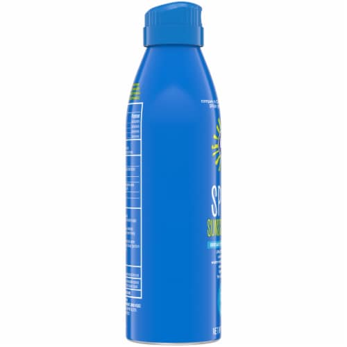 Kroger® Broad Spectrum Sport Sunscreen Spray SPF 50 Perspective: left