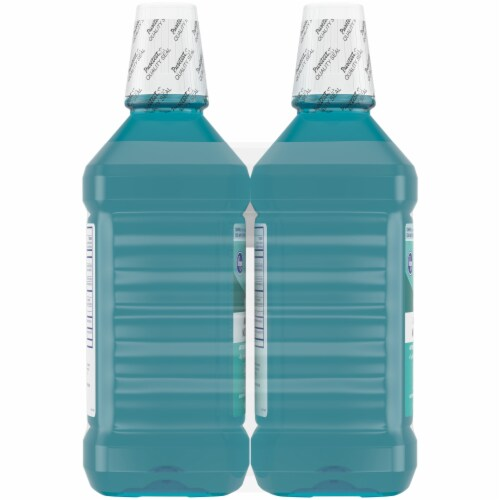 Kroger® Blue Mint Antiseptic Mouth Rinse Perspective: left