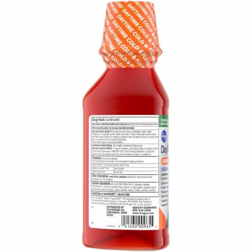 Kroger® Daytime Severe Cold & Flu Multi-Symptom Relief Liquid Perspective: left