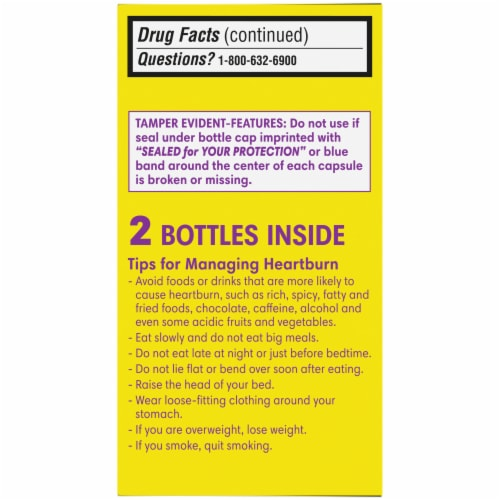 Kroger® Esomeprazole Magnesium Acid Reducer Capsules 20mg Perspective: left