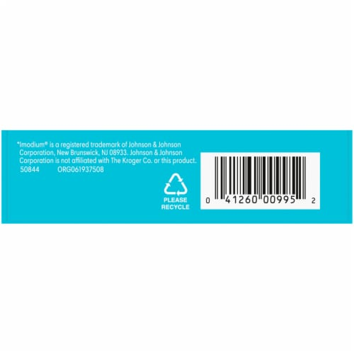 Kroger® Anti-Diarrheal Caplets 2mg Perspective: left