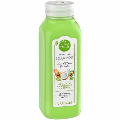 Simple Truth® Beauty Crate Avocado Coconut & Papaya Hydrating Shampoo Perspective: left