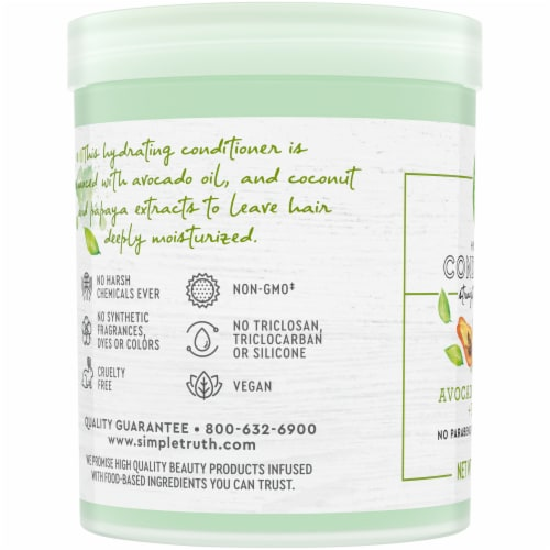 Simple Truth® Beauty Crate Avocado Coconut & Papaya Hydrating Conditioner Perspective: left
