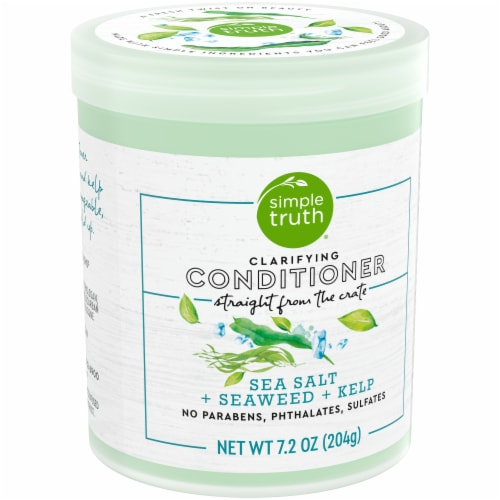 Simple Truth® Beauty Crate Sea Salt Seaweed & Kelp Clarifying Conditioner Perspective: left