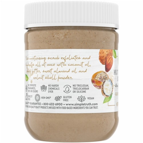 Simple Truth® Almond Shea Nut Butter Scrub Perspective: left