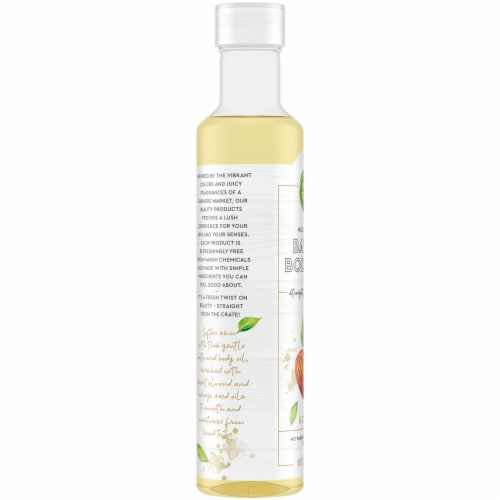 Simple Truth® Almond Body Oil Perspective: left