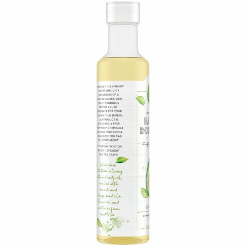 Simple Truth Avocado Body Oil Perspective: left