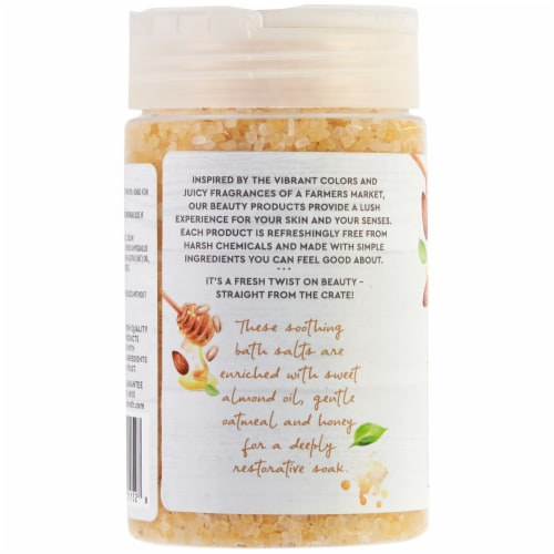Simple Truth® Beauty Crate Almond Oatmeal & Honey Restorative Bath Salts Perspective: left
