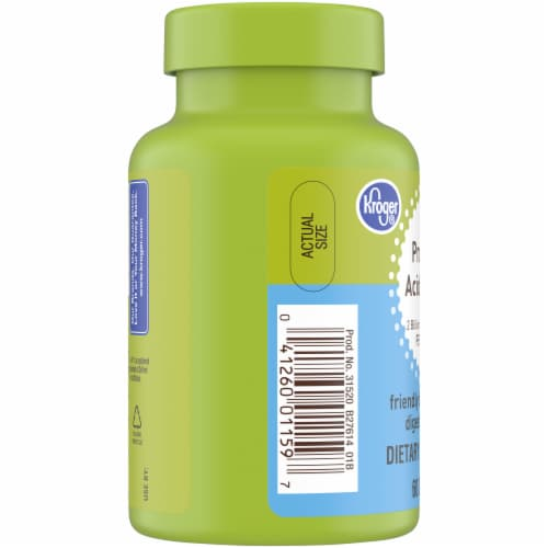 Kroger® Probiotic Acidophilus Dietary Supplement Perspective: left