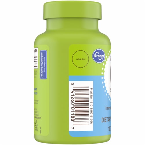 Kroger® Vitamin C Caplets 500mg Perspective: left