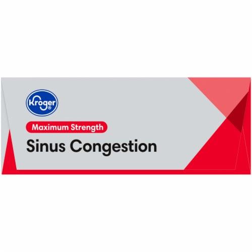 Kroger® Maximum Strength Sinus Congestion Tablets 10mg Perspective: left