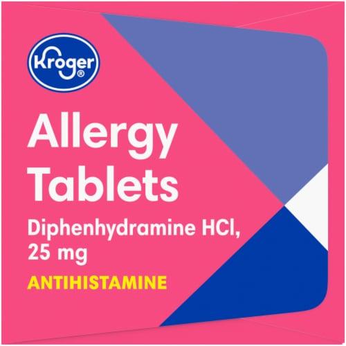 Kroger® Allergy Tablets 25 mg Perspective: left