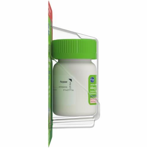 Kroger® Cetirizine HCl Antihistamine Allergy Relief Liquid Gels Perspective: left
