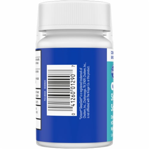 Kroger® Nighttime Sleep Aid Softgels Twin Pack Perspective: left