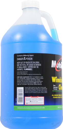 Moto Tech® Windshield Cleaner Perspective: left